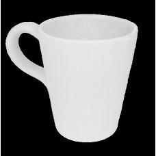 Bicchiere acqua a cono con manico cm 10