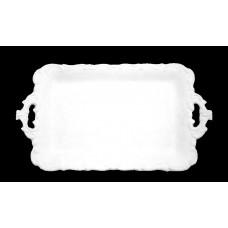 Vassoio barocco rettangolare Cm.44