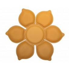 Antipastiera con petali componibile cm 48 circa