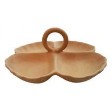 Antipastiera 4 vasche con manico