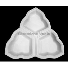 TB A019 - Triangle appetizer tray