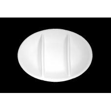 Antipastiera ovale 3 scomparti tb cm 27