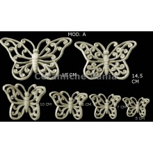 TB K030 / A - Perforated butterflies with curls Mod. A