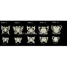 TB K030 / H-I-L-M-N - Perforated butterflies Mod. H-I-L-M-N