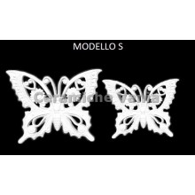 TB K030/S - Perforated butterflies mod. S