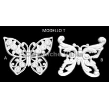 TB K030/T - Perforated butterflies mod. T cm 18
