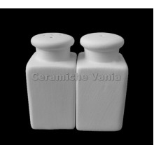 TB S150 - Rectangular salt and pepper pair