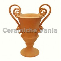 A030 / 60 - Amphora with 2 snake handles / 60.cm