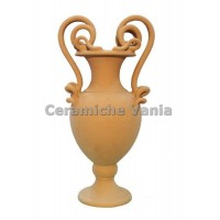 A032 / 35 - Amphora with 2 snake handles unthreaded / 35.cm