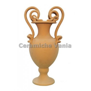 A032 / 80 - Amphora with 2 snapped handles / 80.cm