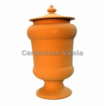 B009 / 18 - Jar with cup foot / 18.cm