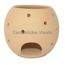 B142 - Polka dot wood burner