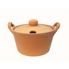 F036 - Cheese bowl with braided handle / 10.cm