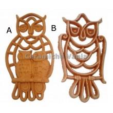 K029 - Openwork owls / 20.cm