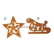 K041 / CD - Openwork decorations / 10.cm