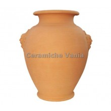 O005 / 80 - Jug with masks / 80.cm