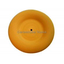 O013 / 17 - Round clock with flap / 17.cm
