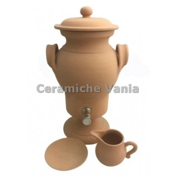 O090 -Jug with stainless steel cinnamon