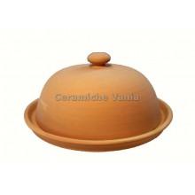 P043 - Round butter dish / 23.cm