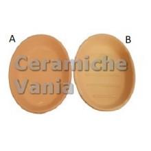 P126 / A - Oval soap dish s. rows / 13.cm