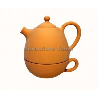 T024/G - Teapot with cup cm 17