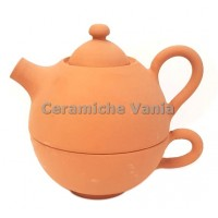 T024/M - Teapot with cup cm 15 h