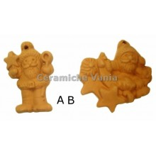W078 - Assorted Christmas decorations small / 6.cm