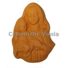 W087 - Madonna with child to hang / 12.cm