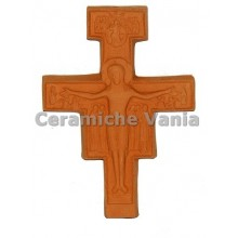 W103 - Assisi crucifix with reliefs / 20.cm