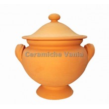 Z010 - Round soup tureen with foot