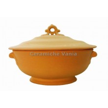 Z013 - Oval soup tureen with foot
