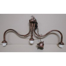 FE004 - SUSPENSION ROCKER CHANDELIER 3 LIGHTS (IRON ONLY)