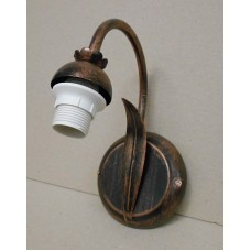 WROUGHT IRON WALL SCONCES 1 LIGHT (ONLY IRON)