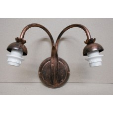WROUGHT IRON WALL SCONCES 2 LIGHTS (ONLY IRON)
