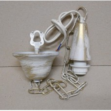 STRUCTURE FOR SUSPENSION LAMP WITH CHAIN 50 CM (ONLY IRON)