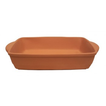 PIR006 / P - RECTANGULAR DISHES SINGLE SERVING FOR OVEN cm 25x15x6H