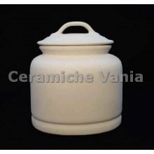 TB B074 / G - Smooth oval jar