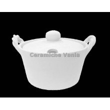 TB F036 - Cheese bowl with braided handle