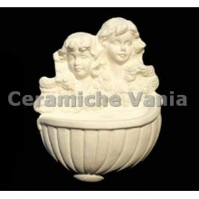 TB H012 - Holy water font with angels