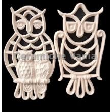 TB K029 - Owls pierced wall