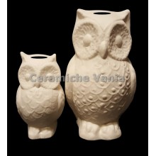 TB S129 / G - Owl piggy bank with embroidery