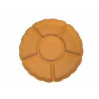 Flower appetizer plate cm 40