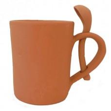 Bicchiere tazza colazione cm 11 con cucchiaio