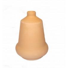 Dispenser sapone liquido per bagno completo di dosatore in plastica cm 15