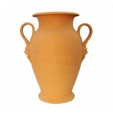 Orcio vaso 2 manici con mascheroni Cm.65